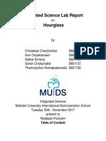 hourglass lab report
