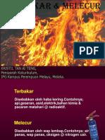8 Terbakar  Melecur