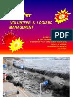 Disaster-lecture-Volunt & Log. 2014