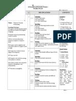RPT Latest English Language Yearly Plan Year 4