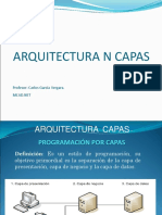 Arquitectura de N Capas