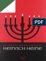 Heine, Heinrich - El Rabino de Bacherach [41483] (r1.0)