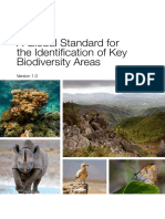 2016-A Global Standard for the Identification of Key Biodiversity Areas