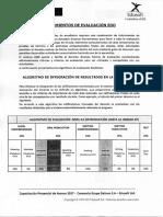 Lineamiento de Evaluaciones EDO
