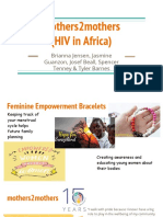 mothers2mothers  hiv in africa