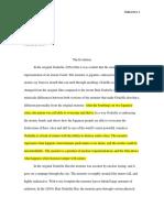 godzilla revised essay