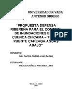 DEFENSA RIBEREÑA PROPUESTA PARA EL RIO CHICAMA