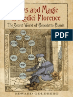 Edward L. Goldberg Jews and Magic in Medici Florence the Secret World of Benedetto Blanis