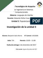 Investigaciones (Benjamin Solis Añorve)