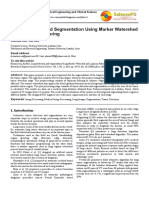 Lung Detection and Segmentation Using Marker Watershed and laplacian filtering.pdf