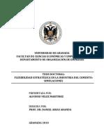 Flexibilidad Estratégica en La Industria Del Cemento