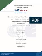 Planeamiento Estratégico Para La Industria Peruana Del Cemento