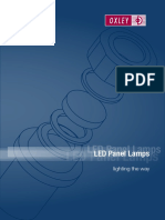Oxley Led Panel Lamps Catalogue