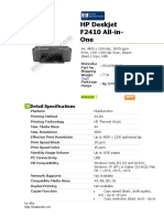 HP Deskjet F2410 All