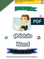 1. Módulo Word - Ejercicio01