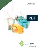 Cosmeticos Brochure Oxiteno