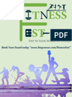 Fitness Fest 2018 - Exhibit Proposal Chandigarh