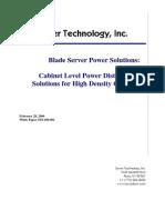 Blade Server Solution