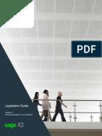 Sage x3 Legislation Guide