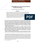 2014A Theory of Debt Maturity-The Long and Short of Debt Overhang.pdf
