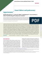 Left Ventricular Heart Failure and Pulmonary Hypertension