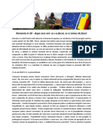 Romania in UE - dupa zece ani