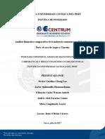 Análisis Financiero Comparativo de La Industria Cementera en Colombia y Perú