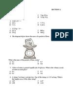 Latihan Math-year 4