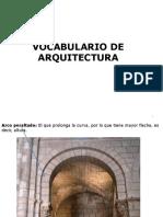vocabulario arquitectura 2