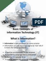 001 - Basic IT Concepts