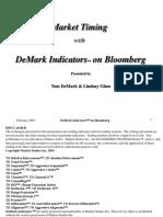 DeMark Indicators on Bloomberg Presentation