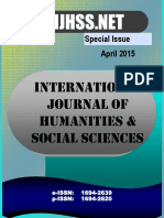 Special Issue - April 2015