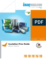 Knauf Insulation UAE Price List