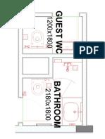 Bathroom Plan Layout