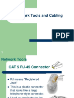 Computer Network Tools and Cabling