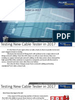 Testing New Cable Tester in 2017