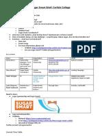 sugar smart brief  students version