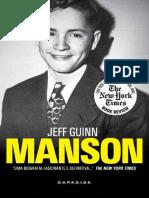 Manson, A Biografia - Jeff Guinn