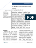 Hybrid Approach for Detection and Recognition of Vehicles