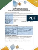 Guía de Actividades y Rúbrica de Evaluación – Fase 4 Aproximación Etnográfica