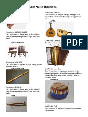 76 Gambar Alat Musik Sumatera Utara Terlihat Keren