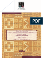 Manual Jurisprudencia Relevante en Materia Penal y Procesal Penal II Nivel