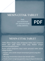 Mesin Cetak Tablet