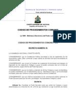 Código de Procedimientos Comunes de Honduras (1906) - Civil-Penal