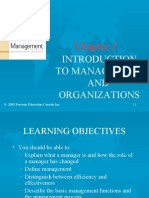 Chapter1- Introductionto Management and Organizations