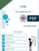 NABL - Complete Process