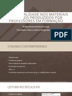 Multimodalidade Nos Materiais Didáticos Produzidos Por Professores Em Formação CONBRALE 2017