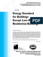 Energy for the Buildings