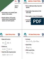 Applications of Adaptive Filtering
