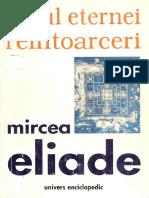 Eliade, Mircea (Mitul Eternei Reintoarceri)(Ed. Univers Enciclopedic 1999)